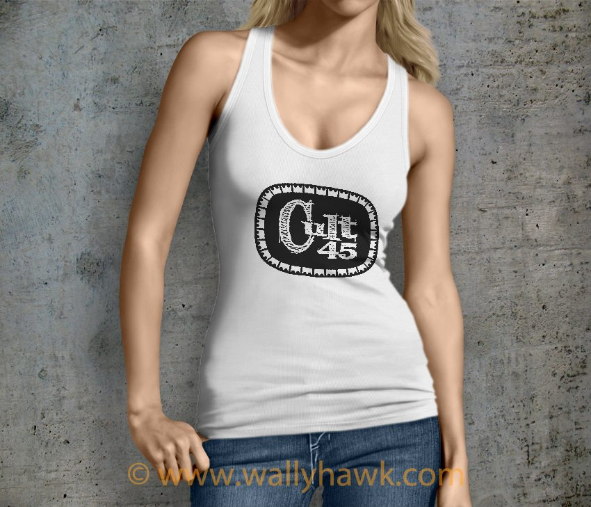 Cult 45 Tank Top - White Female