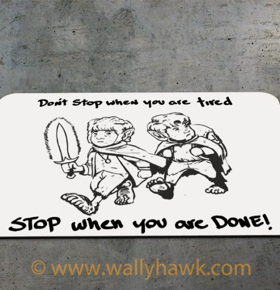 Don't Stop Mousepad 2