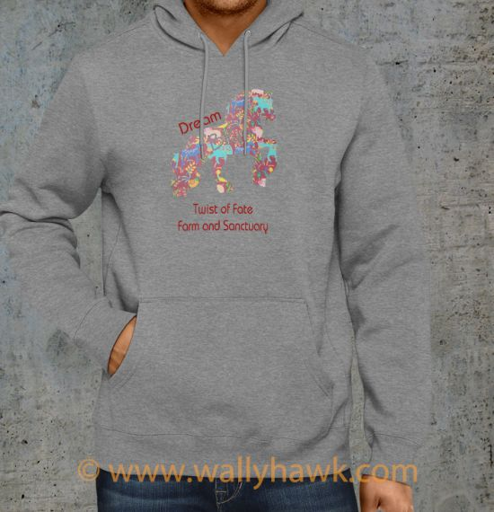 Dream Big Hoodie - Gray