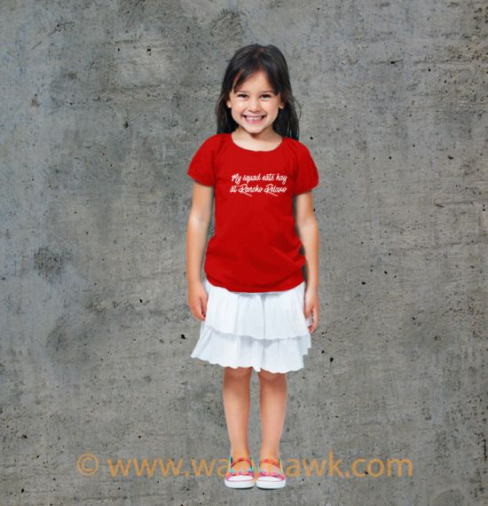 Eat Hay Youth Shirt - Girl Red