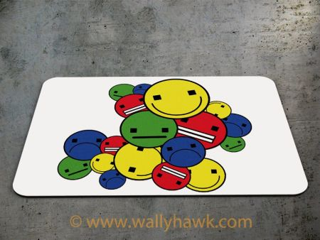 Emoticon Cluster Mousepad - 2
