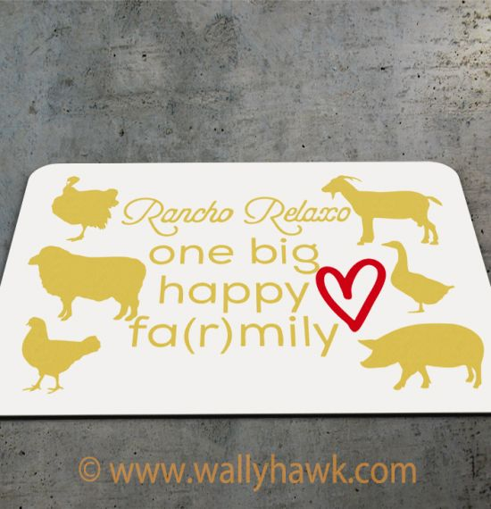 Farmily Mouse Pad 2
