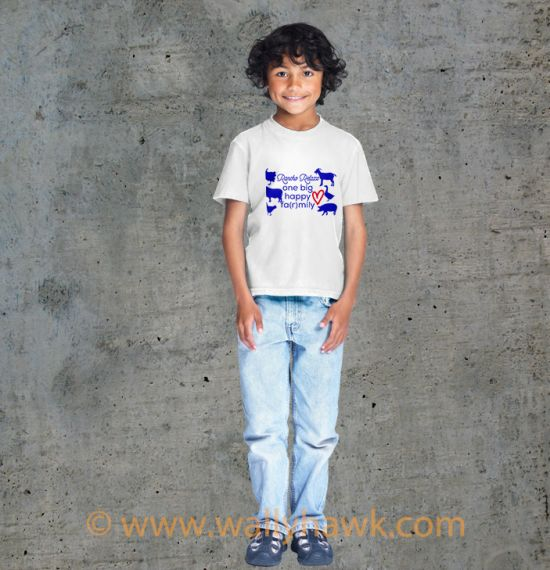 Farmily Youth Shirt - Boy White