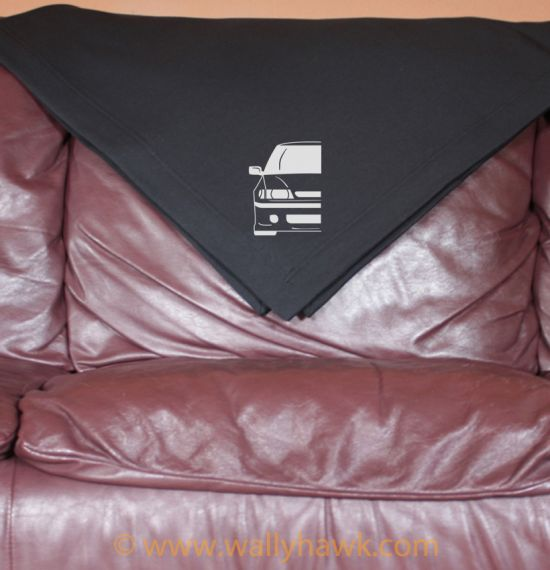 First Gen Subaru Legacy Blanket - Black