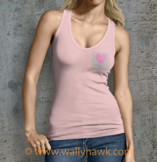 Flourish Tank Top - Female Pink