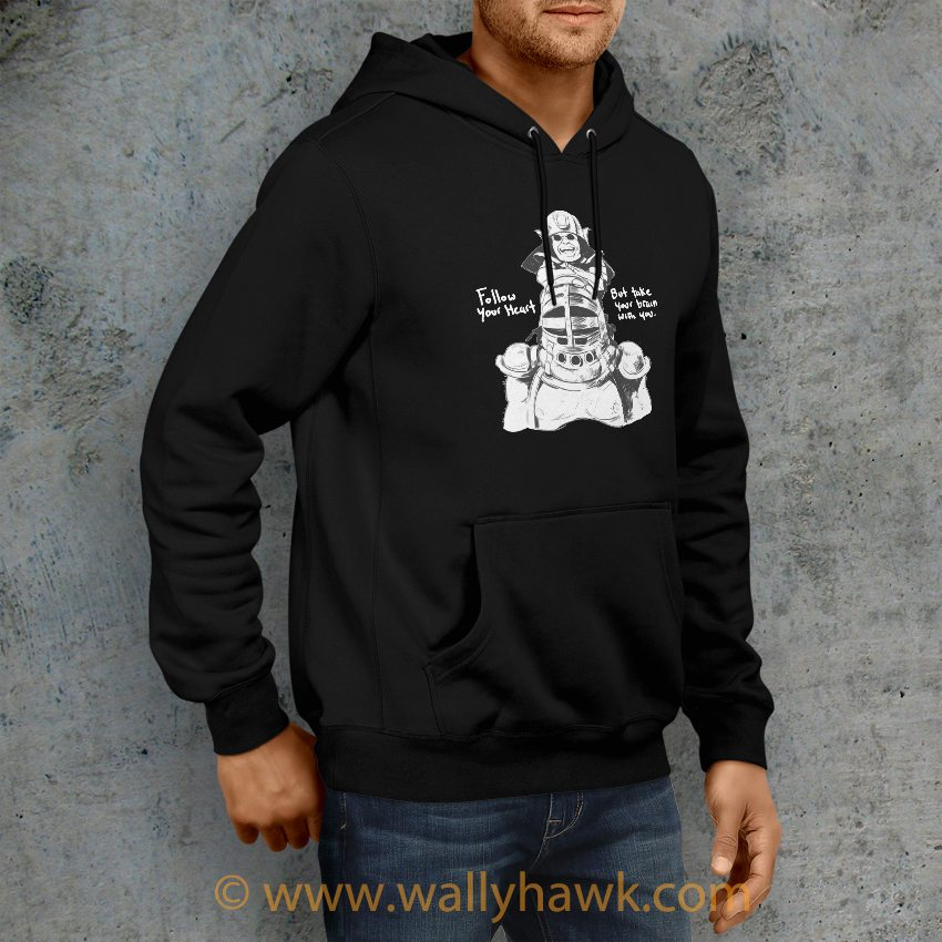 Follow Your Heart Hoodie - Right