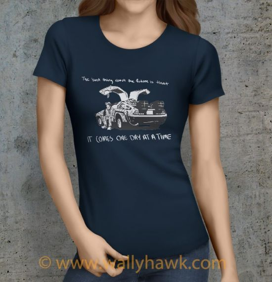 Future Shirt - Female Navy