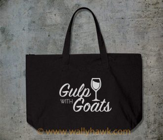 Gulp with Goats Tote