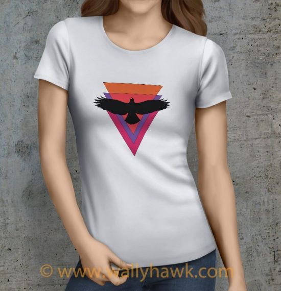 Hawk Shirt - Female White