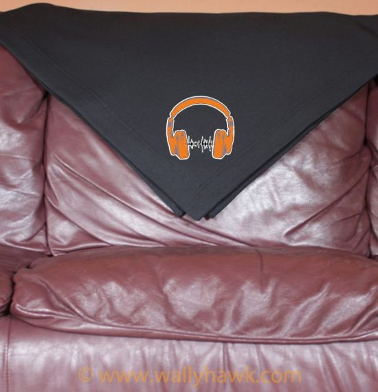 Headphones Blanket - Black