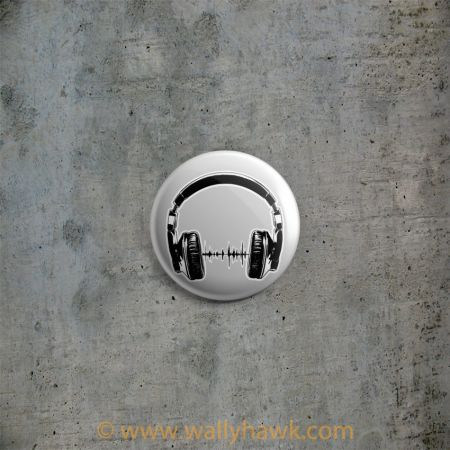 Headphones Button