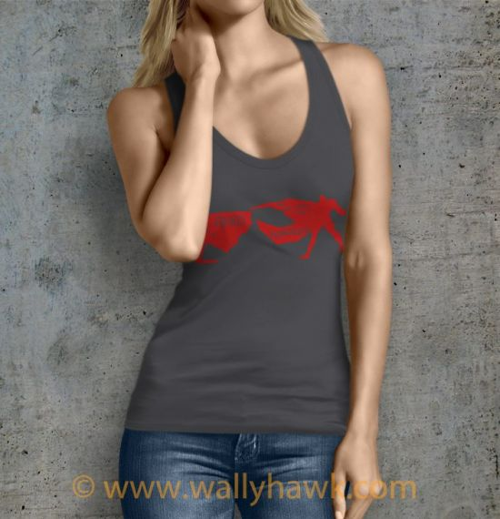 Heroic Tragedy Tank Top - Female Charcoal