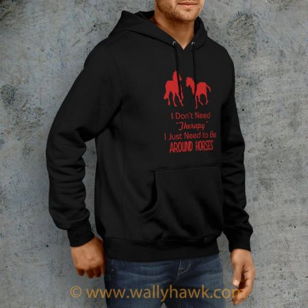 Horse Therapy Hoodie - Right