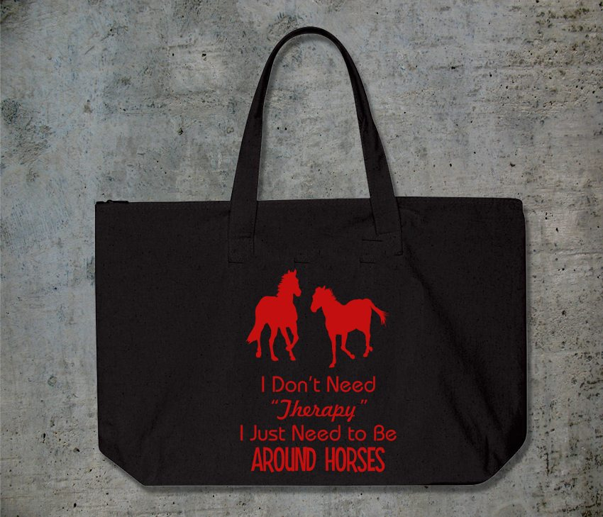 Horse Therapy Tote