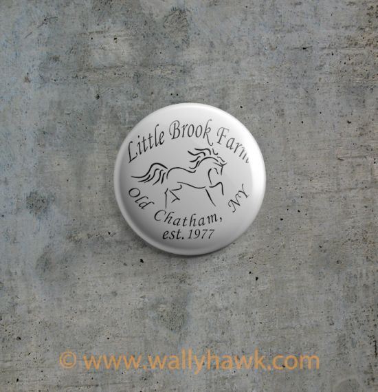 Little Brook Farm Logo Button