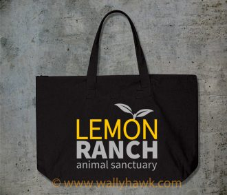 Lemon Ranch Logo Tote