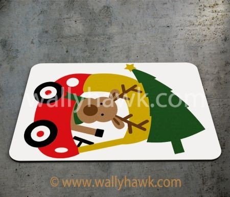 Little Reindeer Mousepad
