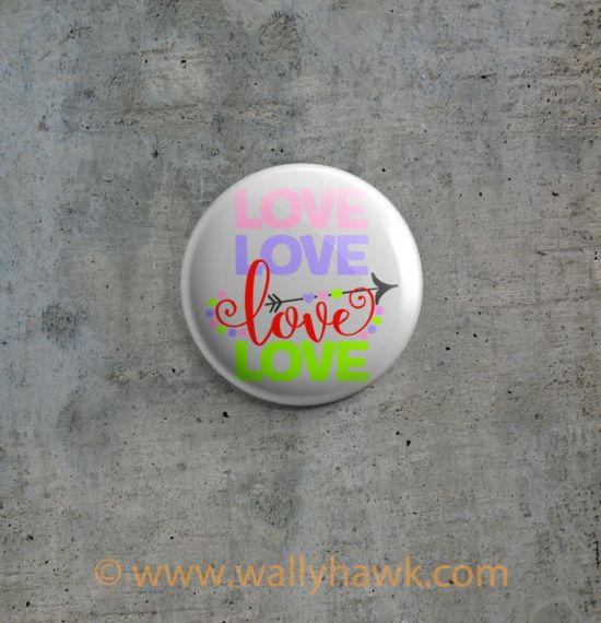 love love love love button