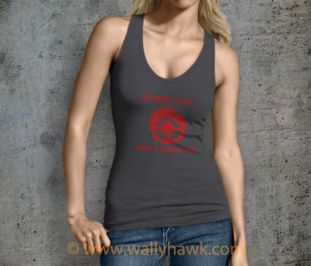 Lovely Day Tank Top - Female Charcoal