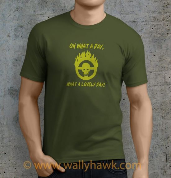 Lovely Day Shirt - Male Mil Green