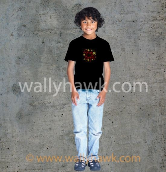 Marry and Bright Youth Shirt - Boy Black