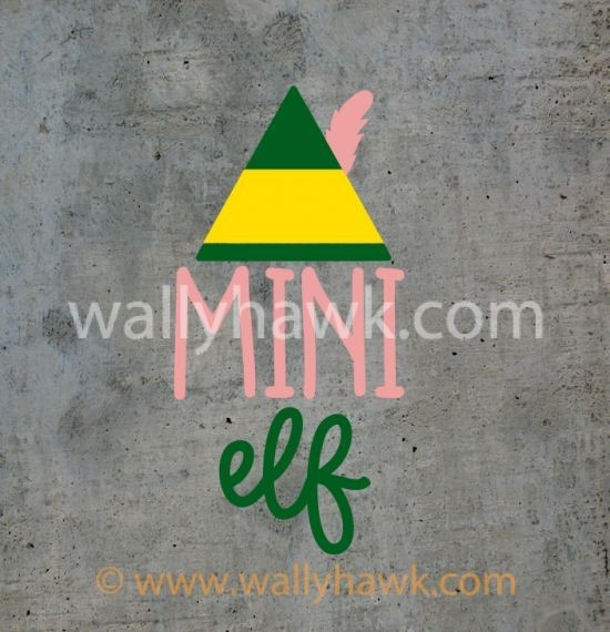 Mini Elf Decal