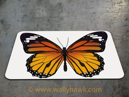 Monarch Butterfly Mousepad - 2