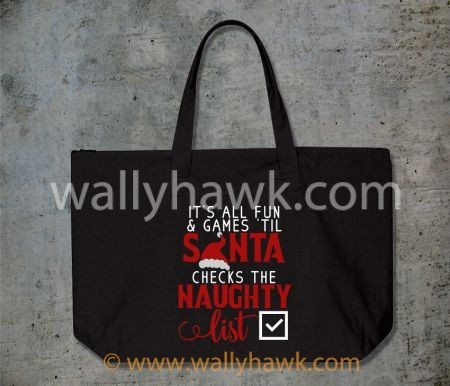 Naughty List Tote
