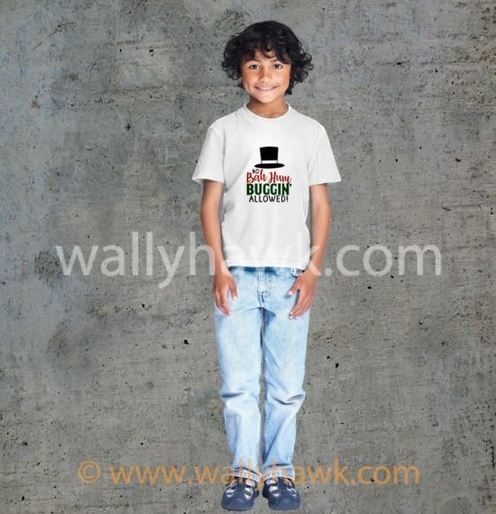 No Bah Humbuggin Youth Shirt - Boy
