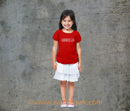 Official Supporter Youth Shirt - Girl Red