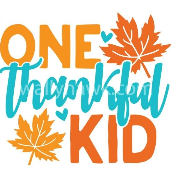 One Thankful Kid