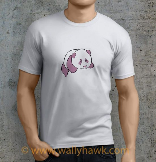 Panda Shirt - Male White