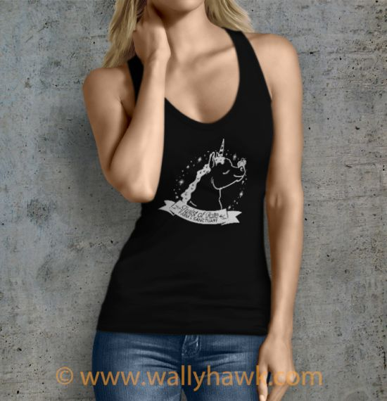 Pumpkin Tank Top - Female Black