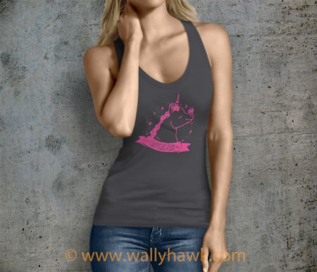 Pumpkin Tank Top - Female Charcoal