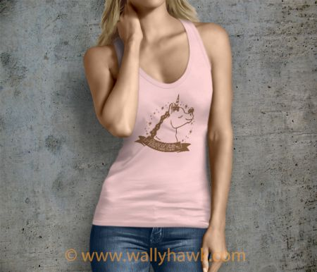Pumpkin Tank Top - Female Pink