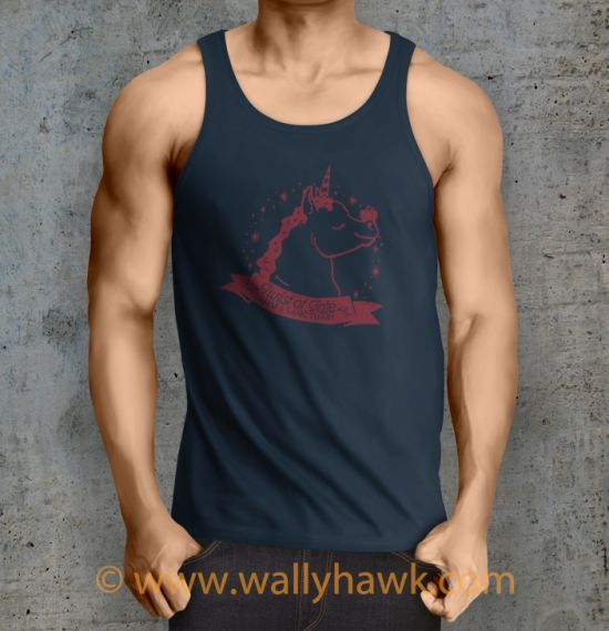 Pumpkin Tank Top - Male Navy