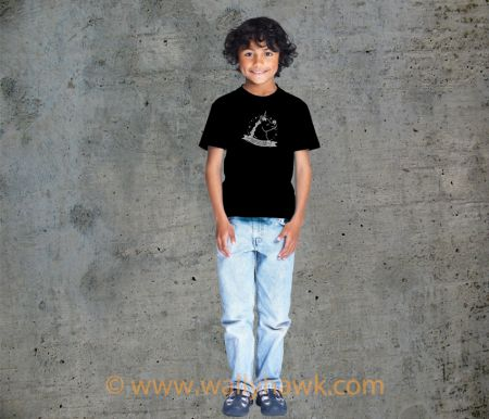 Pumpkin Youth Shirt - Boy Black