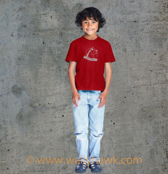 Pumpkin Youth Shirt - Boy Red