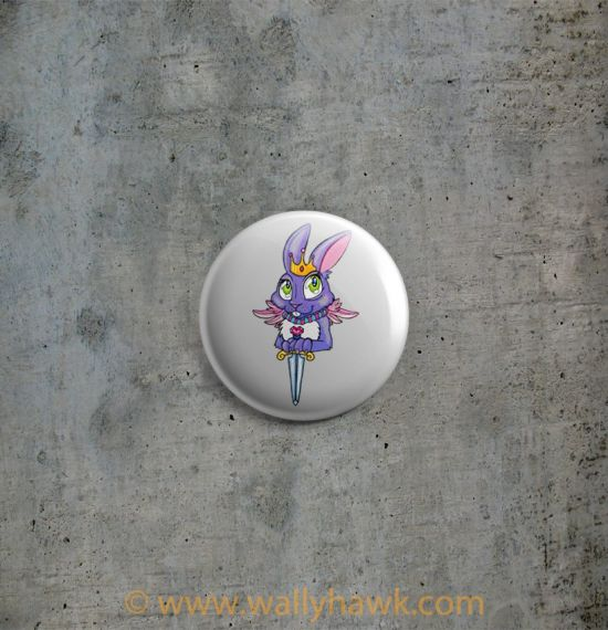 Queen of Blades Button