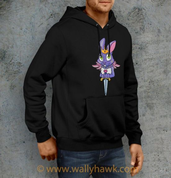 Queen of Blades Hoodie - Right
