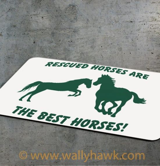 Rescued Horses Mousepad - 3