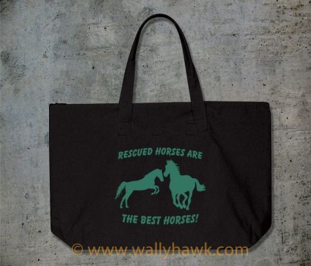 Rescued Horses Tote