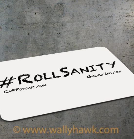 Roll Sanity Mousepad 1