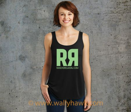 RR Tank Top - Drapey Black