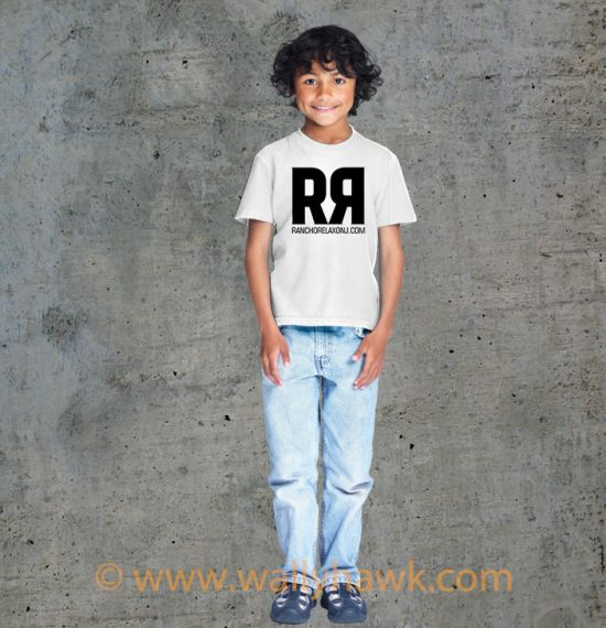 RR Youth Shirt Boy White