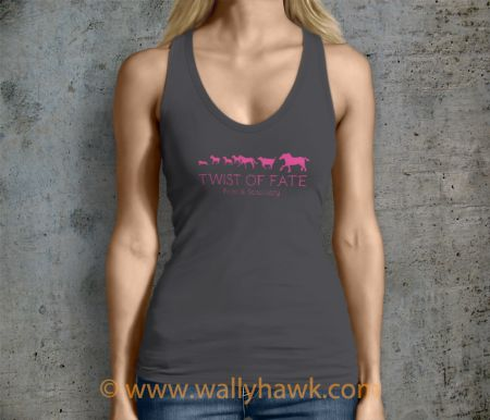 Running Tank Top - Female Charcoal