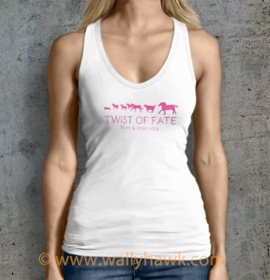 Running Tank Top - Female White