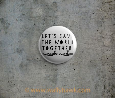 Save the World Button