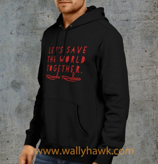 Save the World Hoodie - Left