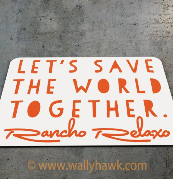 Save the World Mousepad - 2